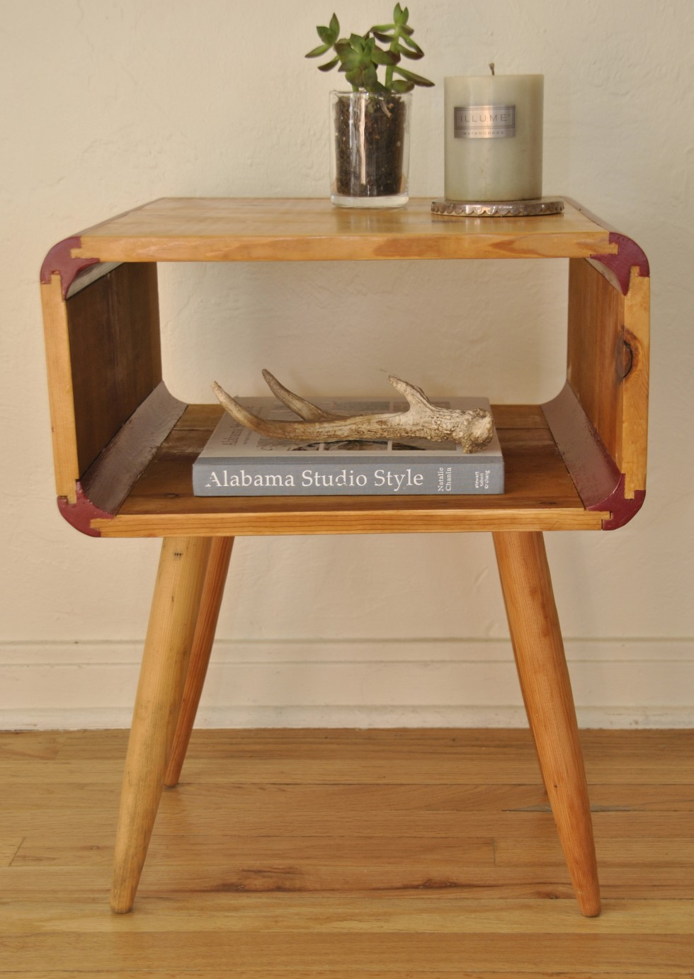 mid century style end tablenight stand
