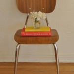 Vintage Bentwood & Chrome Desk/Accent Chair
