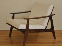 Danish Mid Century Lounge Chair