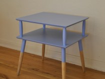 Vintage Mid Century Two-Tier End Table