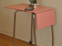 Pink Typewriter Table