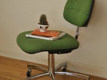Vintage Steelcase Chair