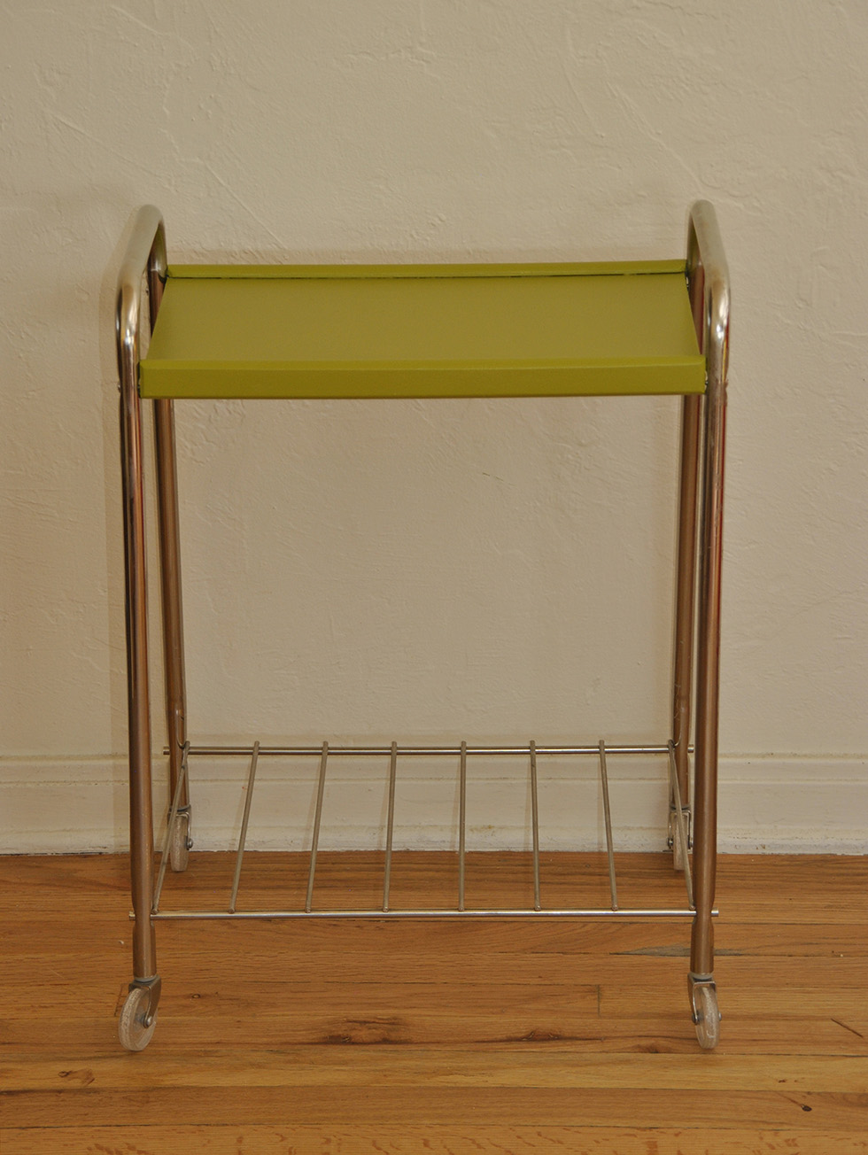 Natural Wood Color Nightstand