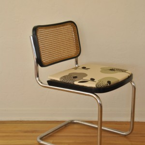 Pair Of Chrome Cesca Chairs Made In Italy
